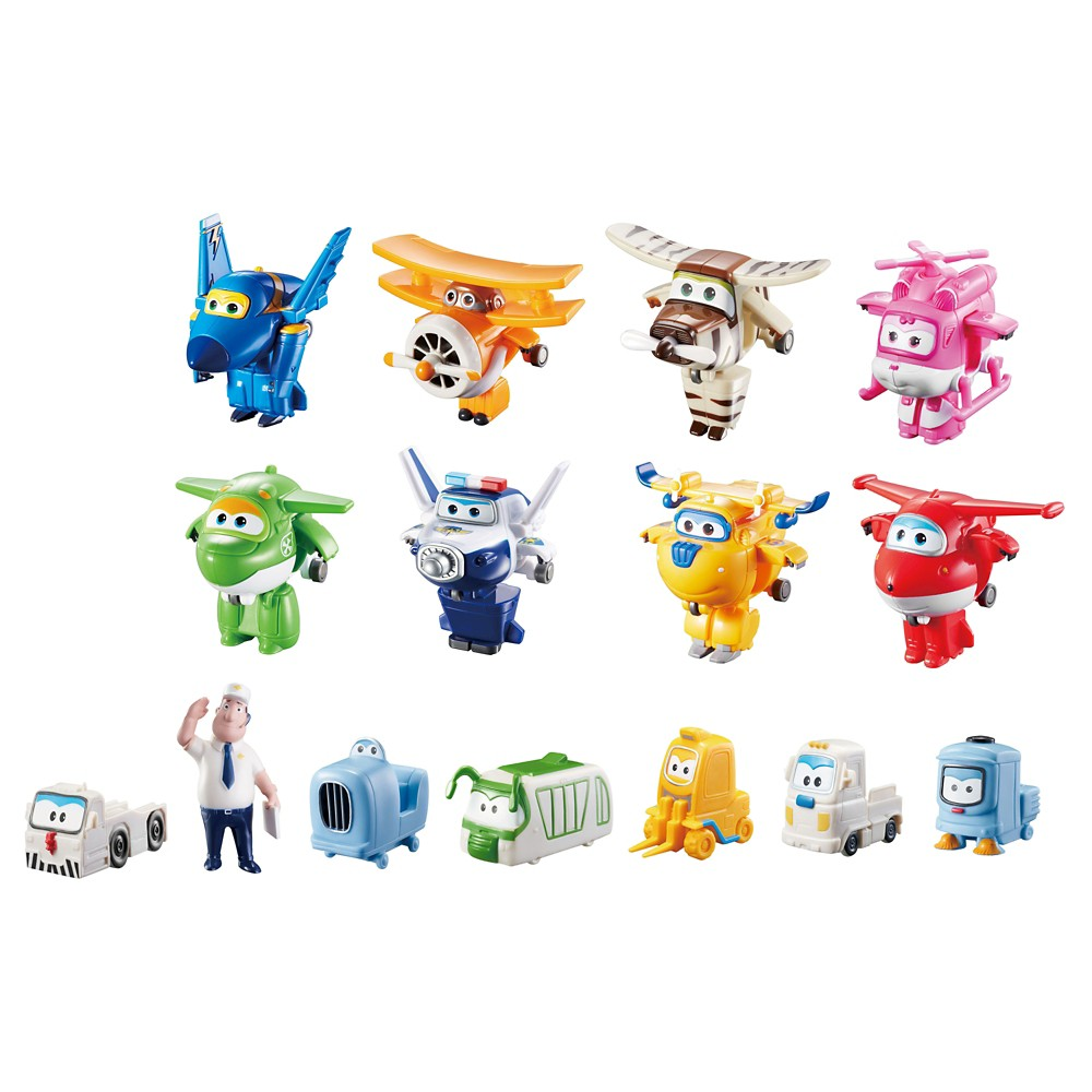 Super Wings World Airport Crew Collector Pack