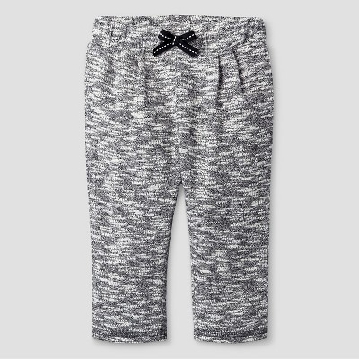 Baby Girls' Texture Jogger Pant Baby Cat & Jack™ - Grey 6-9M