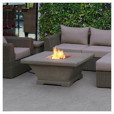 Real Flame® Monaco Low Square Fire Table