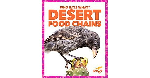 Desert Food Chains (Library) (Rebecca Pettiford) - image 1 of 1