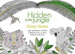Hidden in the Jungle Sticky Notes (Stationery)