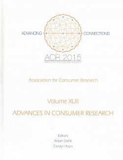 Advances in Consumer Research 2015 (Vol 43) (Hardcover)