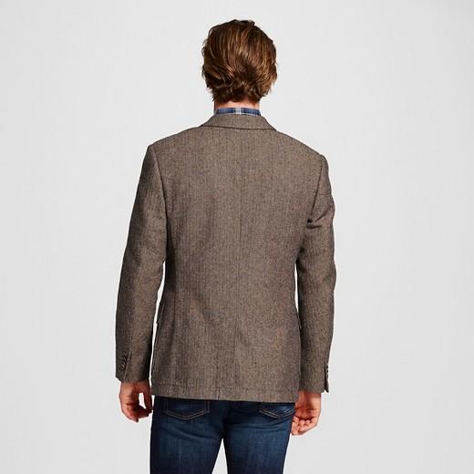 Men's Slim Fit Suit Coat Brown - Merona™ : Target