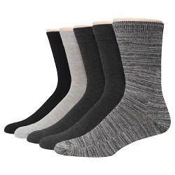 Men's Hanes Premium 5Pack Dress Socks - Multi-Colored 6-12