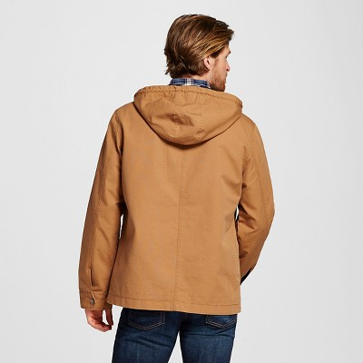 Men's Workwear Parka Tan Xxl - Merona, Brown