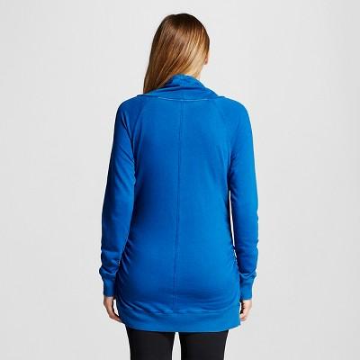 Maternity Cowl Tunic Blue Dream S - Liz Lange for Target, Women's