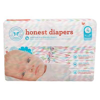 Honest Company Diapers Chevron - Newborn (40 ct)
