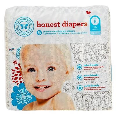 Honest Company Diapers Skulls - Size 6 (22 ct)