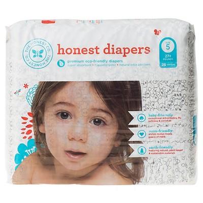 Honest Company Diapers Skulls - Size 5 (25 ct)