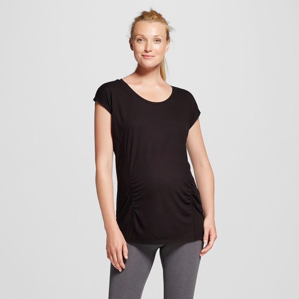 Womens Maternity Active T-Shirt - C9 Champion Black Xxl