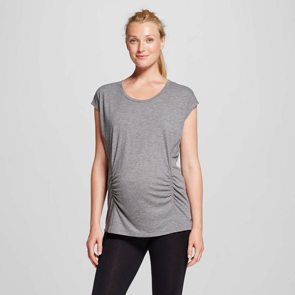 Women's Maternity Active T-Shirt - C9 Champion Black Heather L