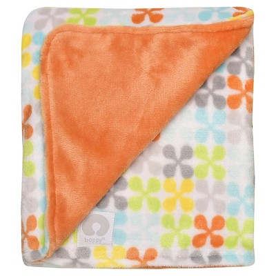 Boppy® Reversible Plush Baby Blanket - Orange
