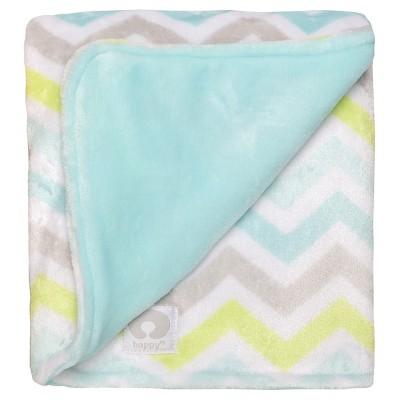 Boppy® Reversible Plush Blanket - Mint Green