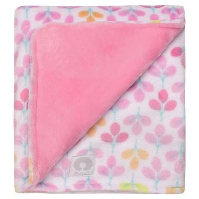 Boppy® Reversible Plush Blanket - Light Pink