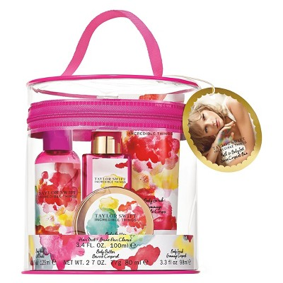 Womens Incredible Things By Taylor Swift Fragrance Bath Set 4 Piece Target Inventory Checker Brickseek