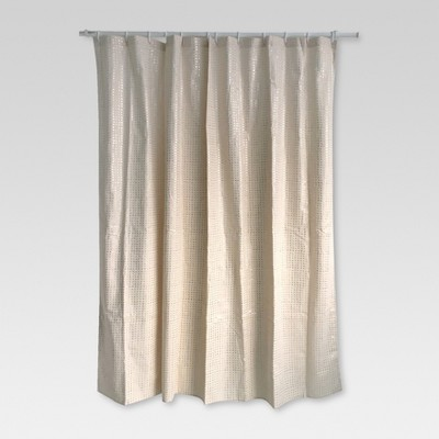 Metallic Rose Gold Print Shower Curtain Rose - Threshold™