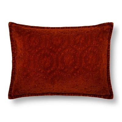 Cinnamon Chenile Oblong Throw Pillow - Threshold™