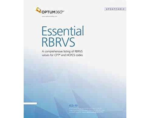 Essential RBRVS 2016 (Updated) (Paperback) - image 1 of 1