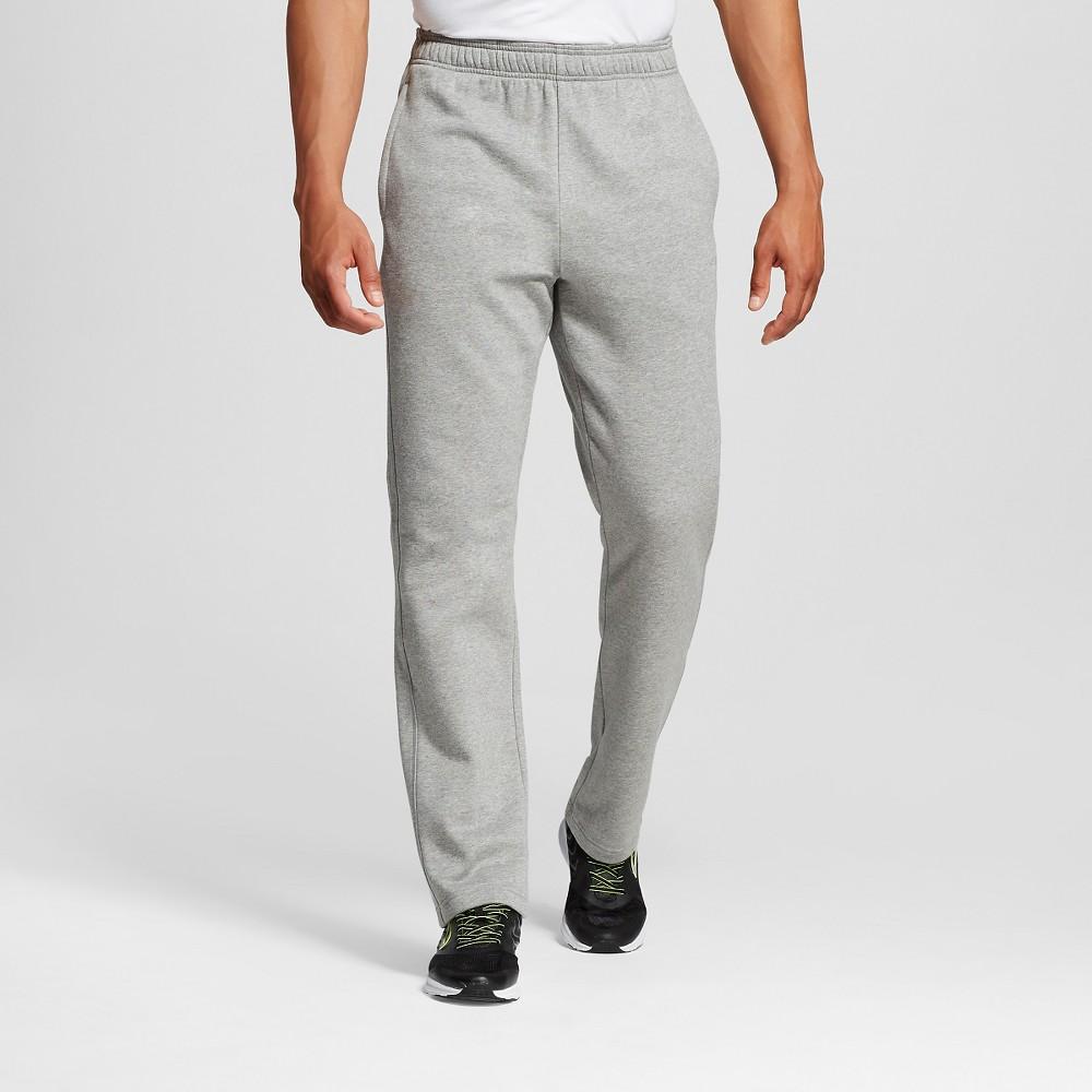 Mens Fleece Sweatpants - C9 Champion Stone (Grey) Gray XL