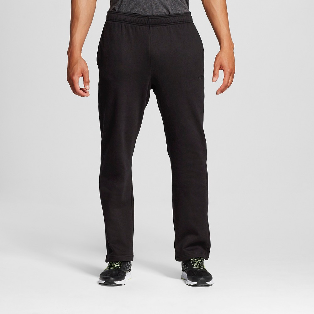 Men's Fleece Sweatpants - C9 Champion Black 2XL, Size: Xxl