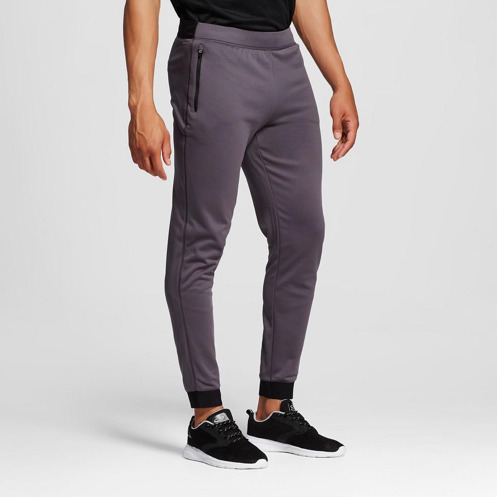 Mens Tech Fleece Jogger Sweatpants - C9 Champion Railroad Gray XL