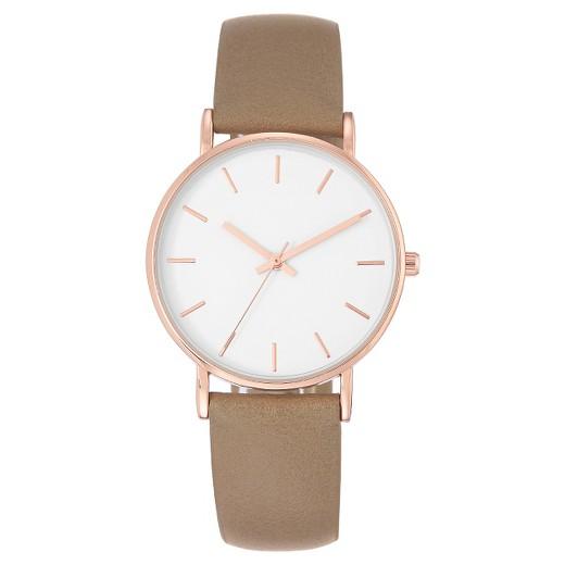wristwatch brown merona target