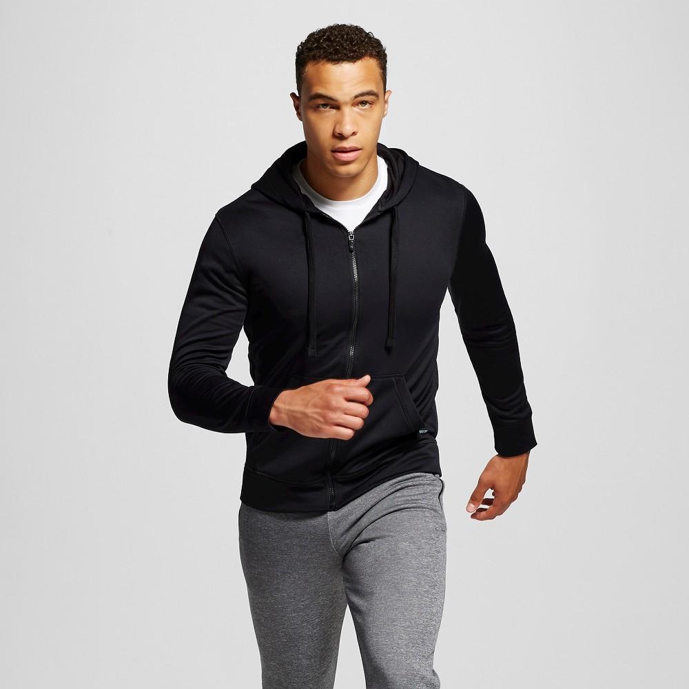 Mens Tech Fleece Full Zip Hoodie - C9 Champion Black 2XL, Size: Xxl