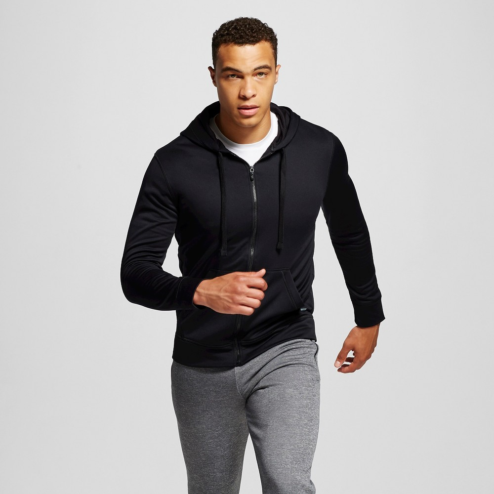 Men's Tech Fleece Full Zip Hoodie - C9 Champion Black M