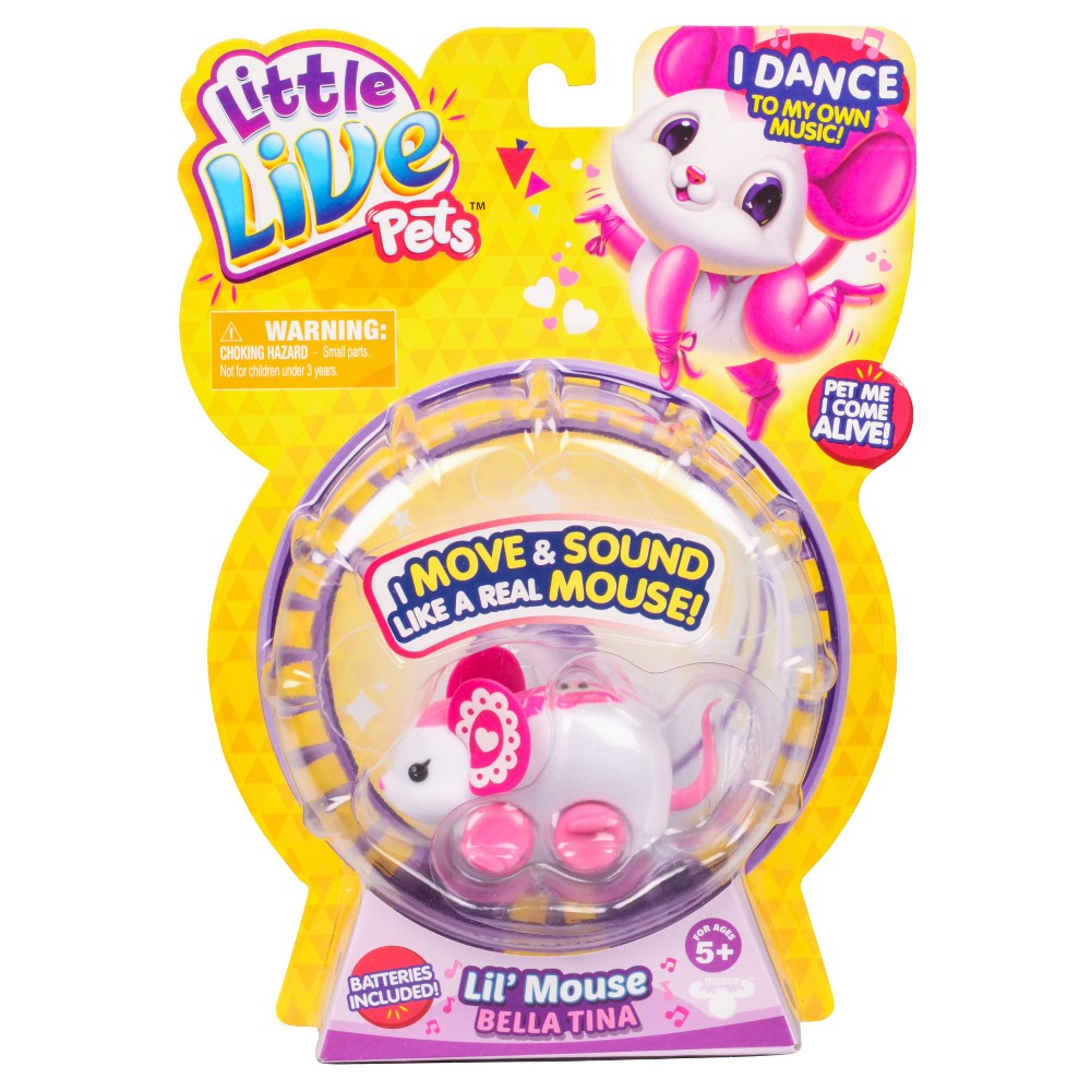 Little Live Pets Lil' Mouse - Bella Tina