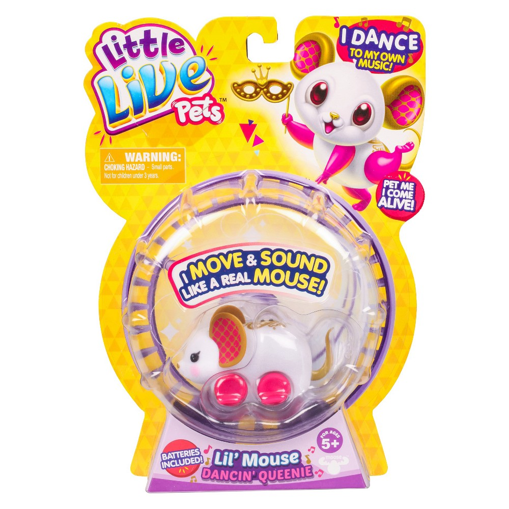 Little Live Pets Lil' Mouse - Dancin' Queenie