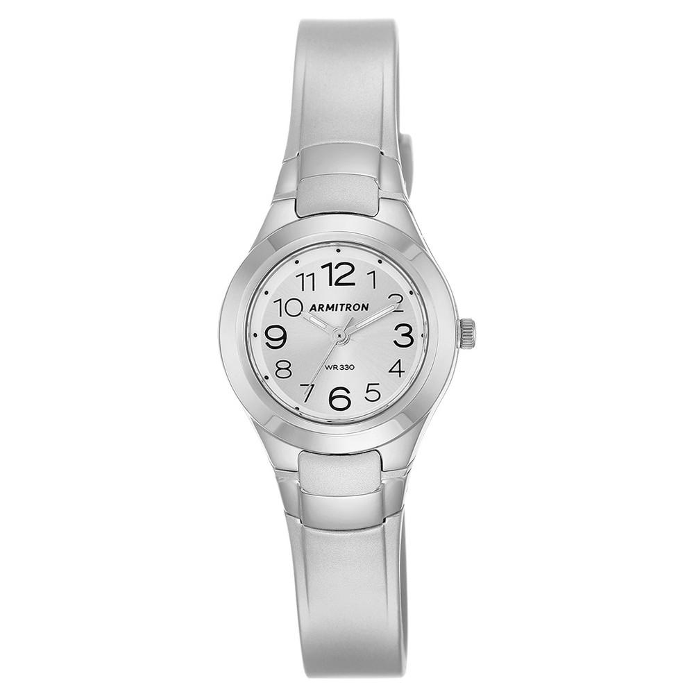 Womens Armitron Digital Watch - Silver