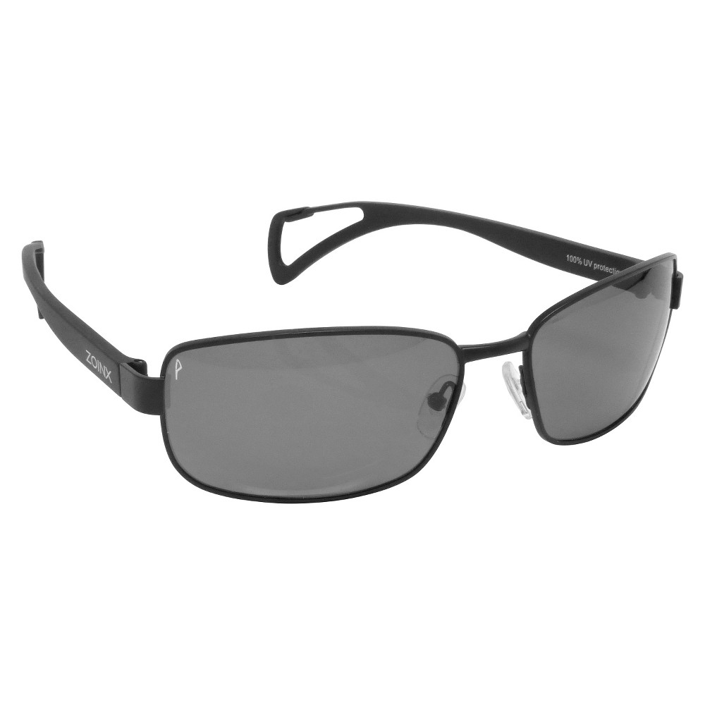 Men's Zoinx Wrap Sunglasses Black