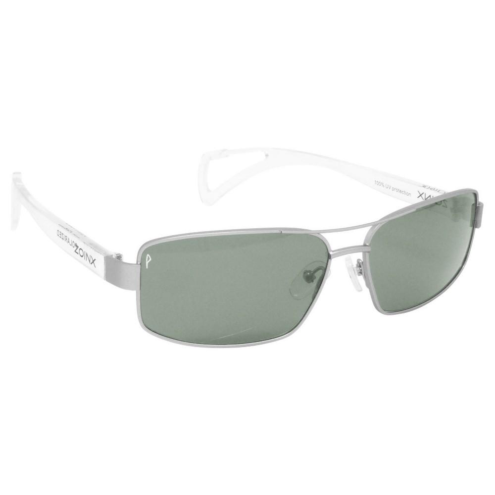 Mens Zoinx Wrap Sunglasses Black, Clear