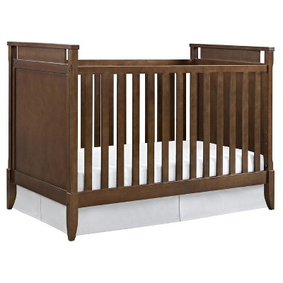 Baby Relax Alvar Mid-Century Crib - Walnut