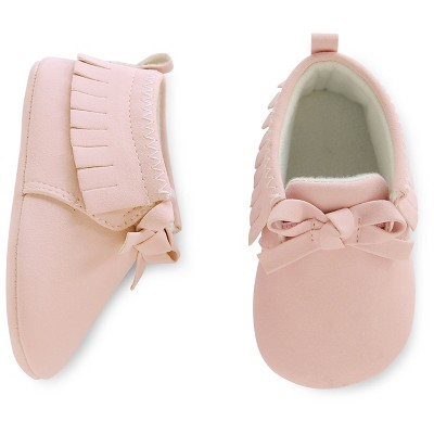 Just One You™ Made by Carter's® Baby Girls' Pink Moccasin - Size 2