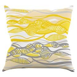 Gill Eggleston Kalahari Throw Pillow - KESS InHouse