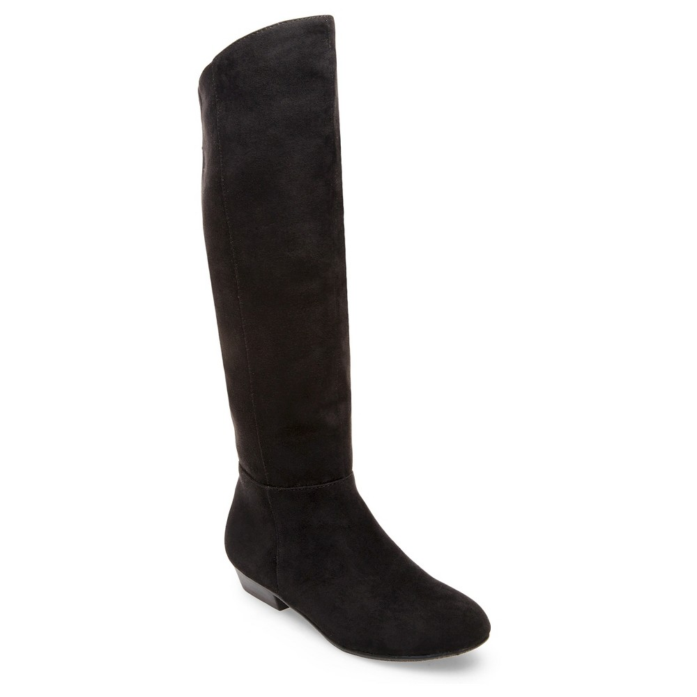Girls Betseyville Paige Riding Boots -Black 1, Black