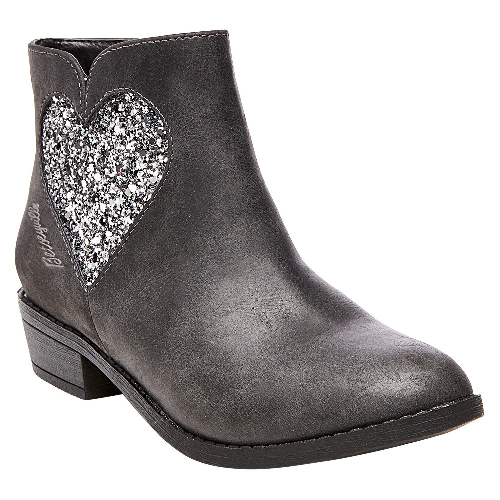 Girls Betseyville Pam Western Boots - Gray 3