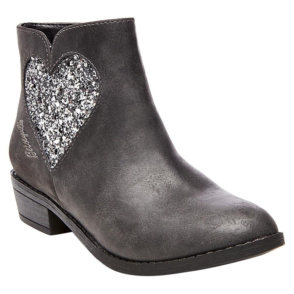 Girls Betseyville Pam Western Boots - Gray 4