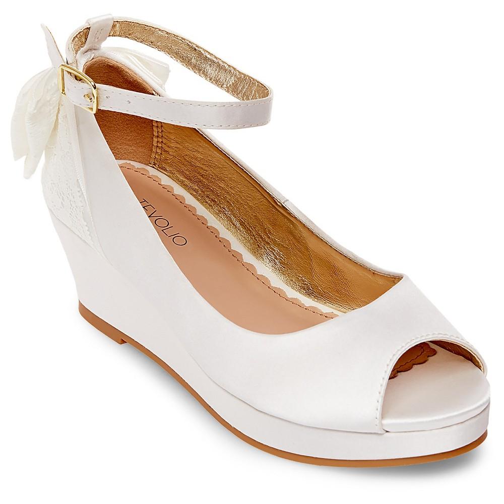 Girls Adelynn Pumps Tevolio - White 6