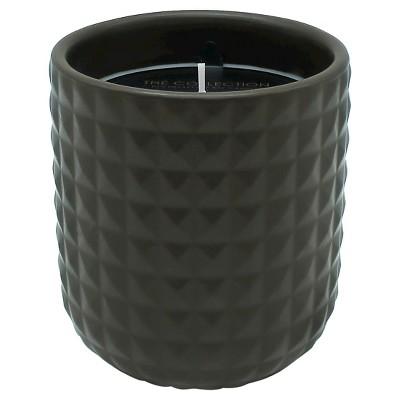 Hobnail Jar Candle Brown 13.8oz - THE COLLECTION by Chesapeake Bay Candle®