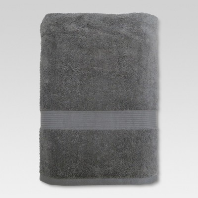 Performance Bath Sheet Radiant Gray - Threshold™