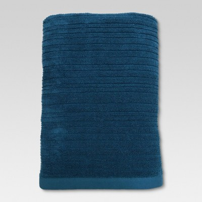 Textured Bath Sheet Calhoun Blue - Threshold™