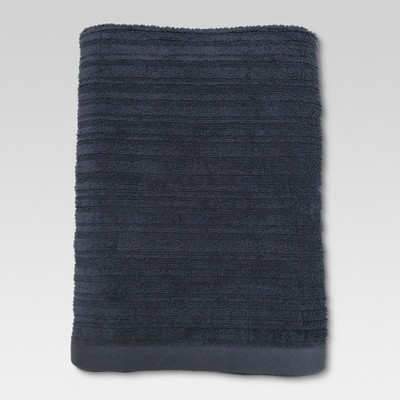 Textured Bath Sheet Anchor Gray - Threshold™