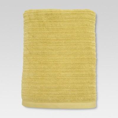 Textured Bath Sheet Lasting Yellow - Threshold™