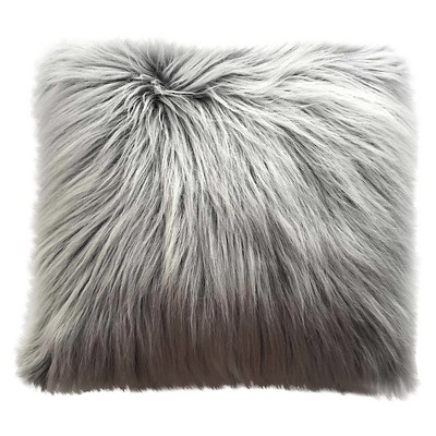 Oversized Faux-fur Pillow White - Threshold™
