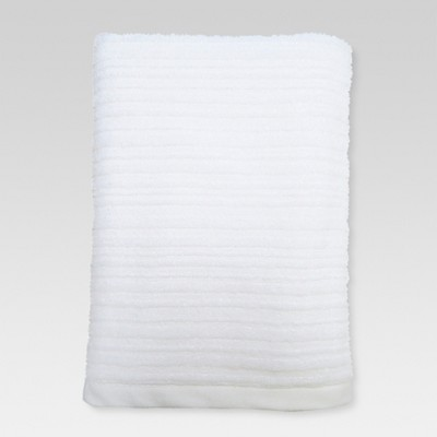 Textured Bath Sheet - True White - Threshold™