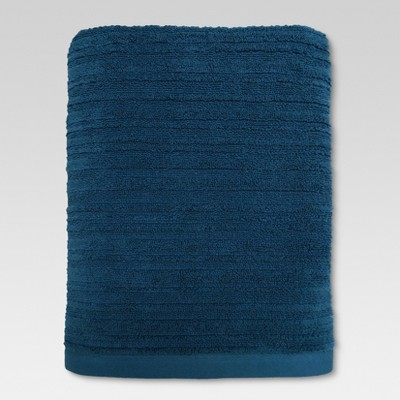 Textured Bath Towel Calhoun Blue - Threshold™