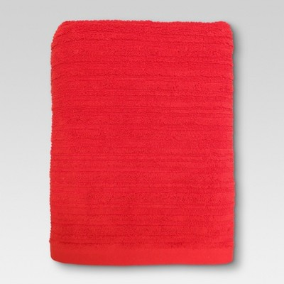 Textured Bath Towel Warm Orange - Threshold™