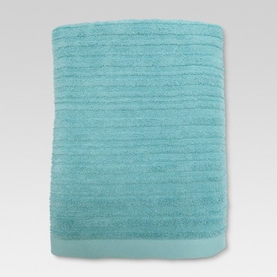 Textured Bath Towel Aqua Pool - Threshold™
